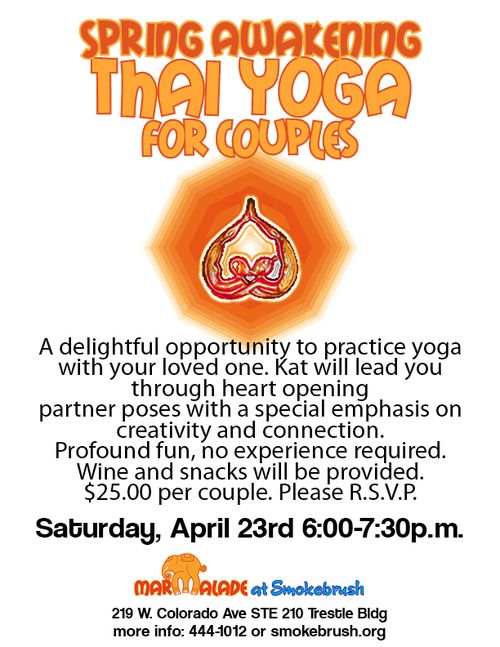Thai Yoga for Couples 8x11