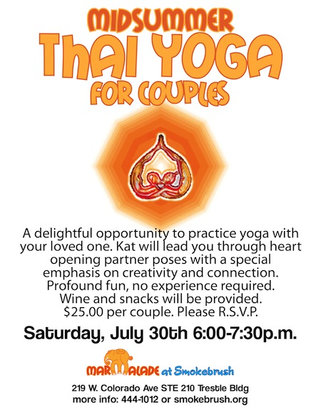 Thai Yoga for Couples 8x11 July