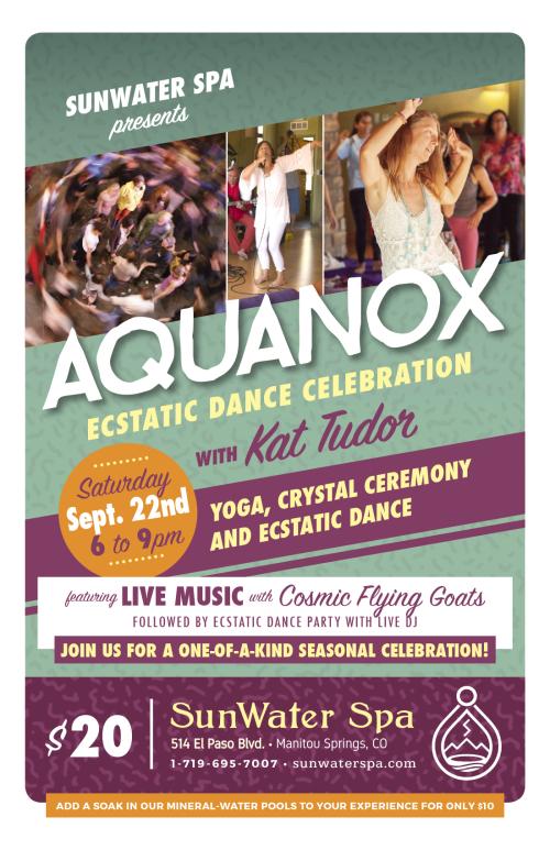 Aquanox Ecstatic Dance Celebration with Kat Tudor SEPTEMBER 2018 2up